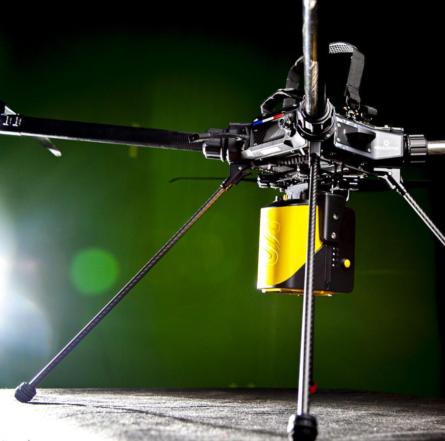 Drone Tundra Lidar Yellowscan